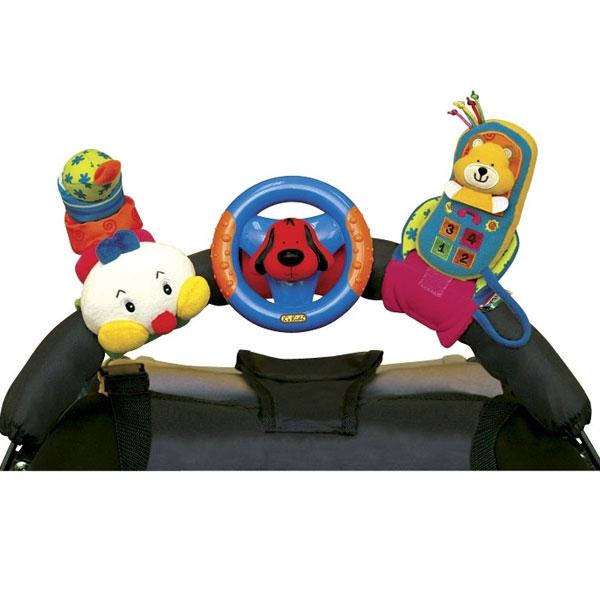 Igračka za kolica i krevetac Veseli trio KA10444 - ODDO igračke