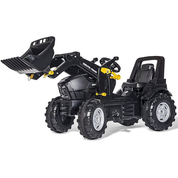 Traktor na pedale sa prednjom kašikom Rolly Toys Deutz agrotron TTV  710348 - ODDO igračke