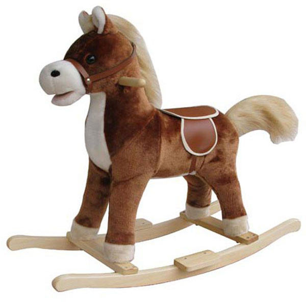 Klackalica plišana Konjić 021054 - ODDO igračke