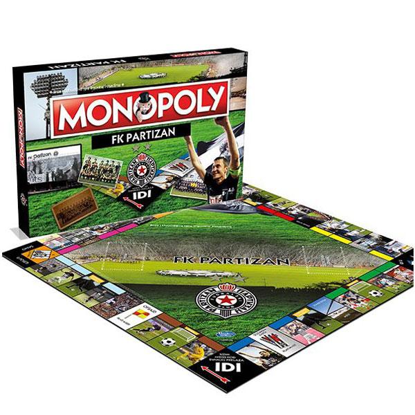 Monopol FK Partizan 001991 - ODDO igračke