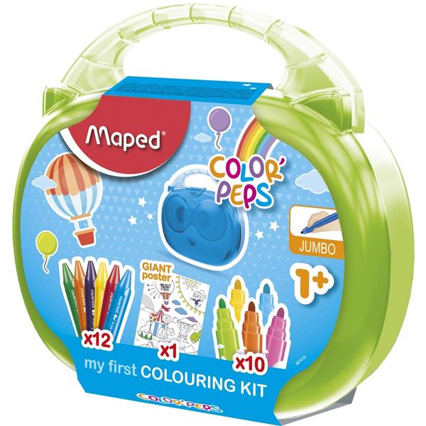 Maped set Deciji 1+ u koferu M897416 - ODDO igračke