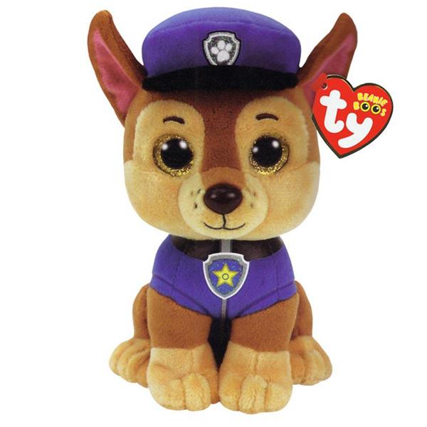 TY plišana igračka Paw Patrol Chase 15cm MR41208       - ODDO igračke