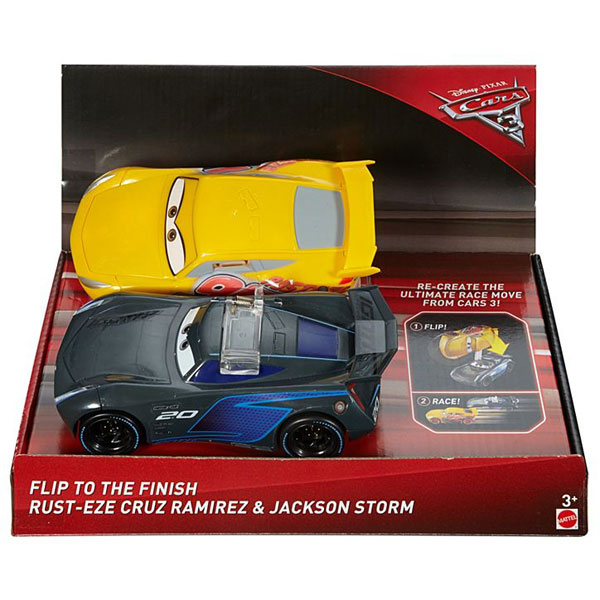 Cars 3 auto Flip to the Finish 2pcs FCX95 - ODDO igra�ke