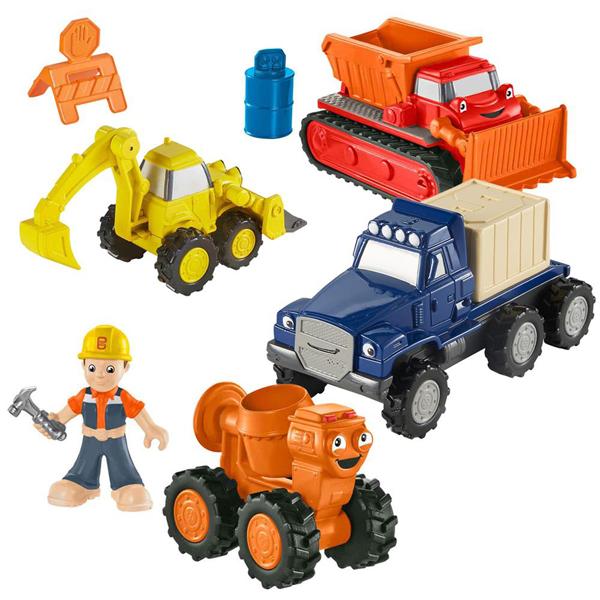 Bob Builder Fisher Price Vozila CJG91 - ODDO igračke