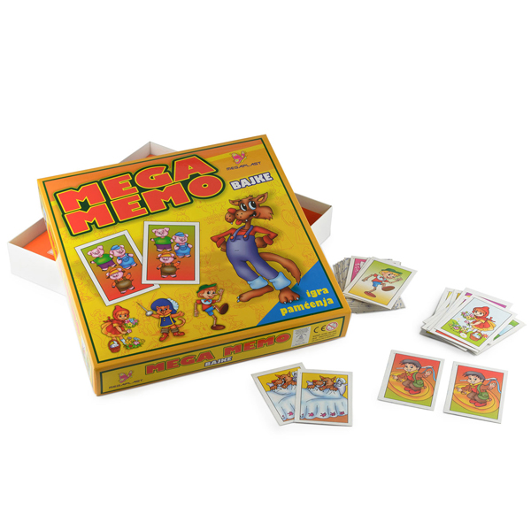 Megaplast Mega Memo 3950735 - ODDO igračke