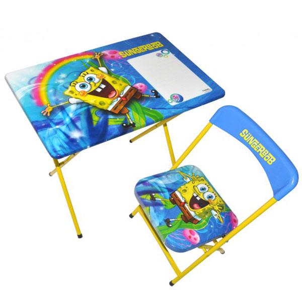 Sto i stolica Sunđer Bob 555888-4 - ODDO igračke