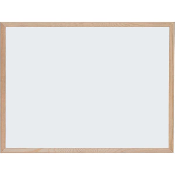 Optima bela tabla 60x90 drveni ram 22365 - ODDO igračke