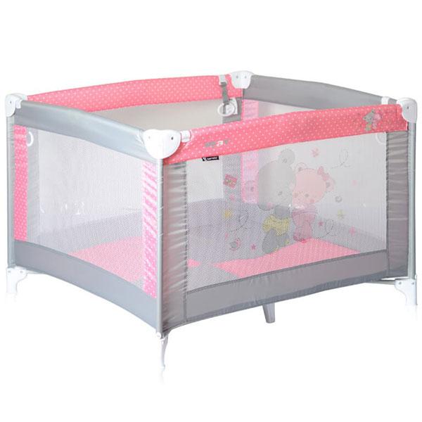 Ogradica Play Grey&Pink Za Za 10080051817 - ODDO igračke