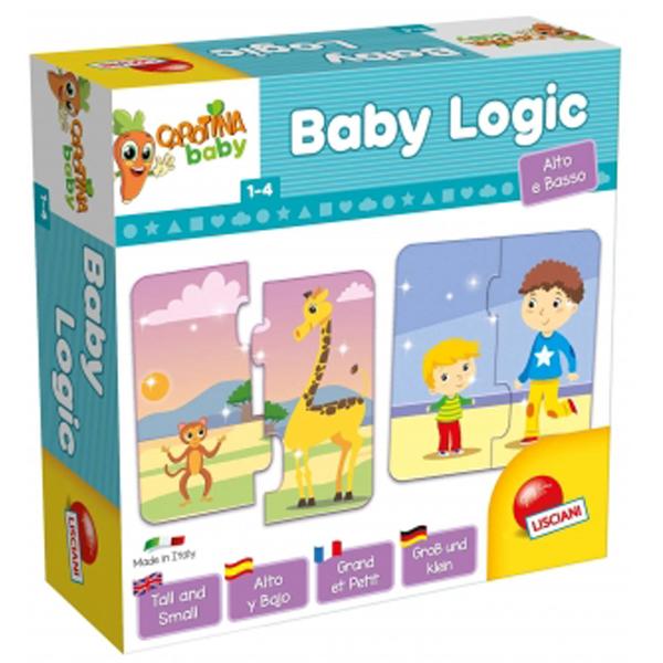 Slagalice CAROTINA BABY LOGIC šuma 65400 - ODDO igračke