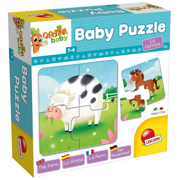 Slagalica CAROTINA BABY PUZZLE farma 65424 - ODDO igračke