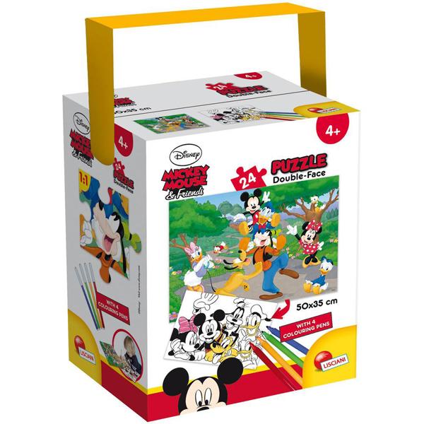 Slagalice 24pcs 35x50 Mickey 65240 - ODDO igračke