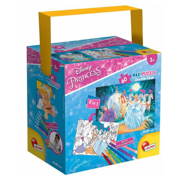 Slagalica 60pcs 35x50 Princess 65905 - ODDO igračke