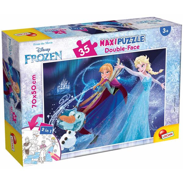Slagalica Lisciani 35pcs Maxi Frozen 66711 - ODDO igračke