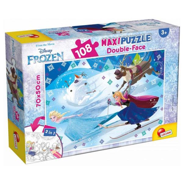 Slagalica Lisciani 108pcs Maxi Frozen 66742 - ODDO igračke