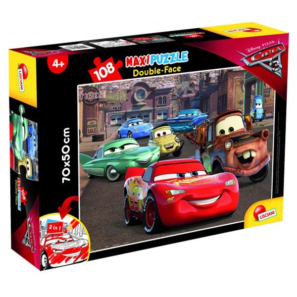 Slagalica Lisciani 108pcs Maxi CARS3 63963 - ODDO igračke