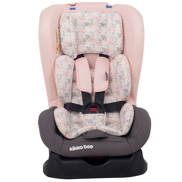 Auto Sedište za decu od 0-18kg Vintage Flowers Light Pink 31002030010 - ODDO igračke