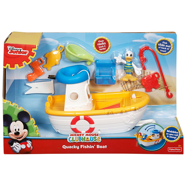 Fisher Price Fishin Boat CJD97 - ODDO igračke