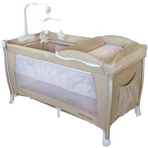 Prenosivi Krevetac Dessine Moi 2 Nivoa Beige 31003010008 - ODDO igračke