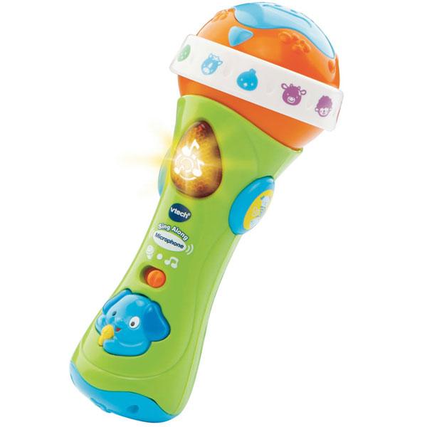Mikrofon sa Zvučnim Efektima zeleni 80-078763 - ODDO igračke
