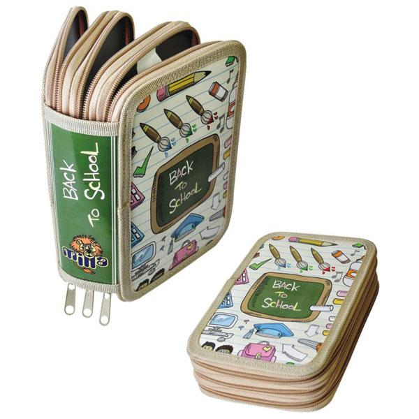 Pernica 3 ZIP Back To School MILLA 10-0243 - ODDO igračke