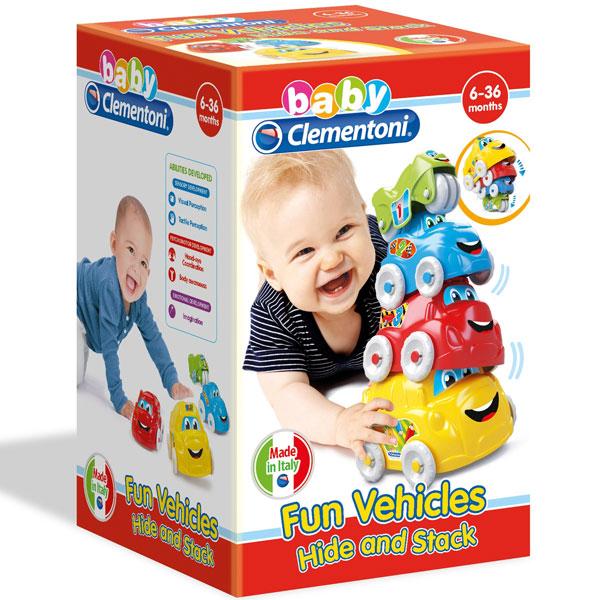 Autići Baby Clementoni CL17111 - ODDO igračke