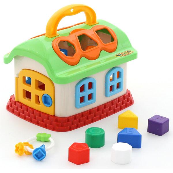 Kucica Sa Oblicima Polesie 48745 - ODDO igračke