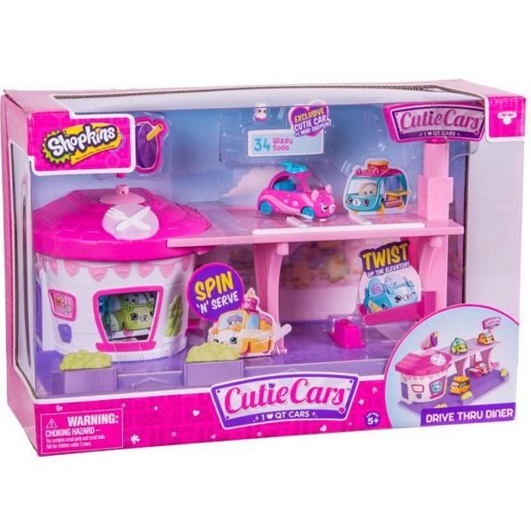 Cutie Cars Shopkins Drive Thru Diner Playset ME56538 - ODDO igračke