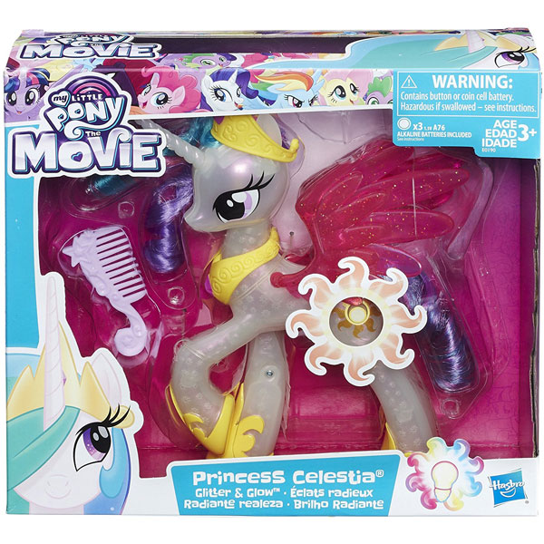 My Little Pony Glitter and Glow Princess Celestia E0190 - ODDO igračke