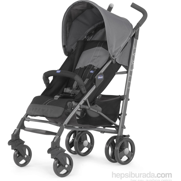 Chicco kolica za bebe Liteway 2 Top Coal crna 5020580 - ODDO igračke