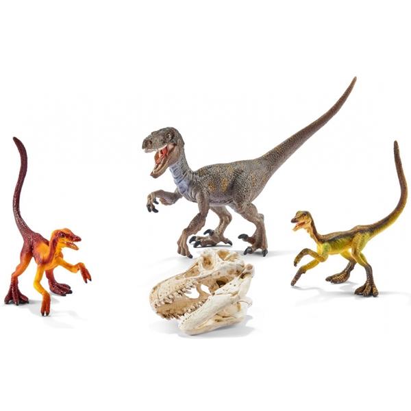 Schleich figura Velociraptor on the Hunt 42259 - ODDO igračke