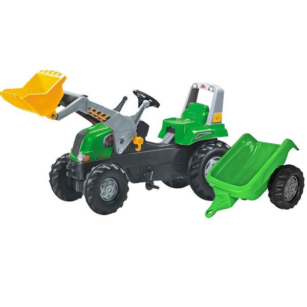 Traktor junior sa kašikom i prikolicom 812202 - ODDO igračke