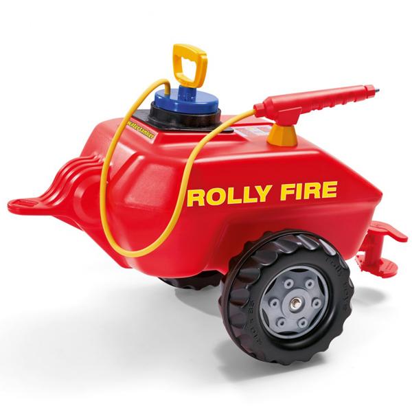 Prikolica Rolly Toys Vacumax Fire 122967 - ODDO igračke