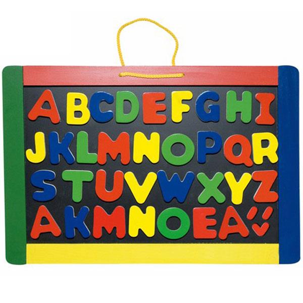 Woody Magnetna tabla sa alfabetom 90637 - ODDO igračke