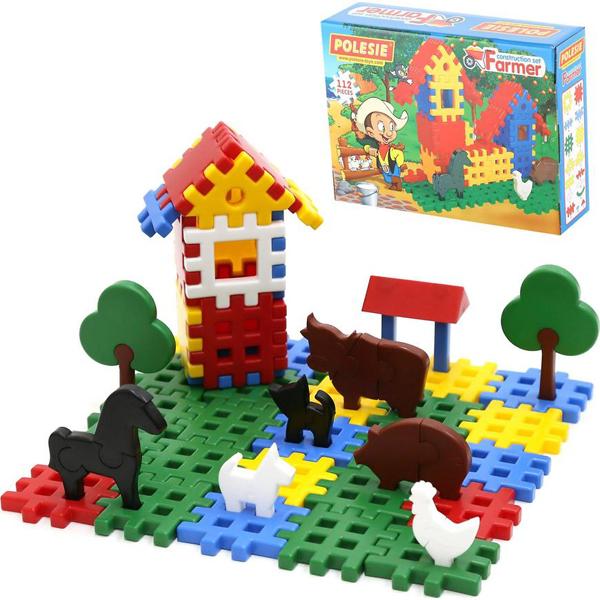 Polesie kocke se 112 delova Farmer 17/4864 - ODDO igračke