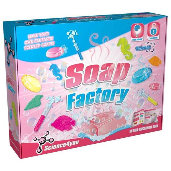 Fabrika sapuna Science 4 You SC397347      - ODDO igračke