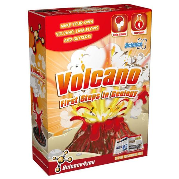 Vulkan prvi koraci u geologiji Science 4 You SC607101      - ODDO igračke