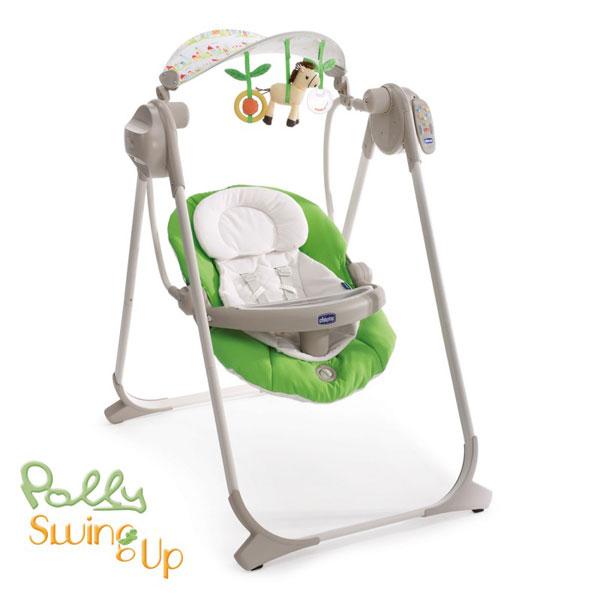 Chicco ljuljaška Polly Swing up Spring-zelena 5380052 - ODDO igračke