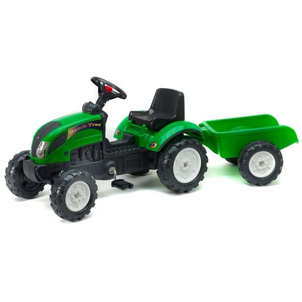 Traktor Falk na pedale sa prikolicom Ranch 2052ac - ODDO igračke