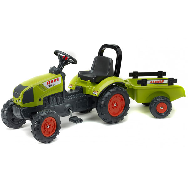Traktor Falk na pedale Claas Arion 410 sa prikolicom 2040ab - ODDO igračke