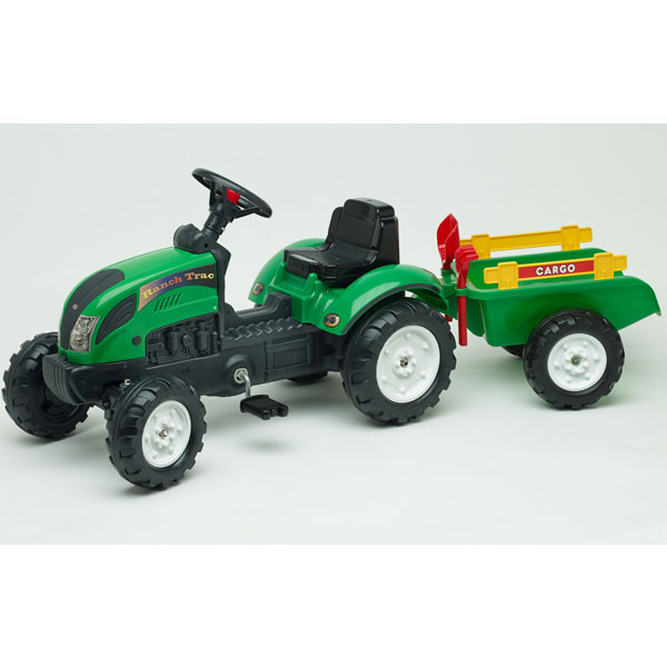 Traktor Falk na pedale Ranch sa prikolicom 2052c - ODDO igračke