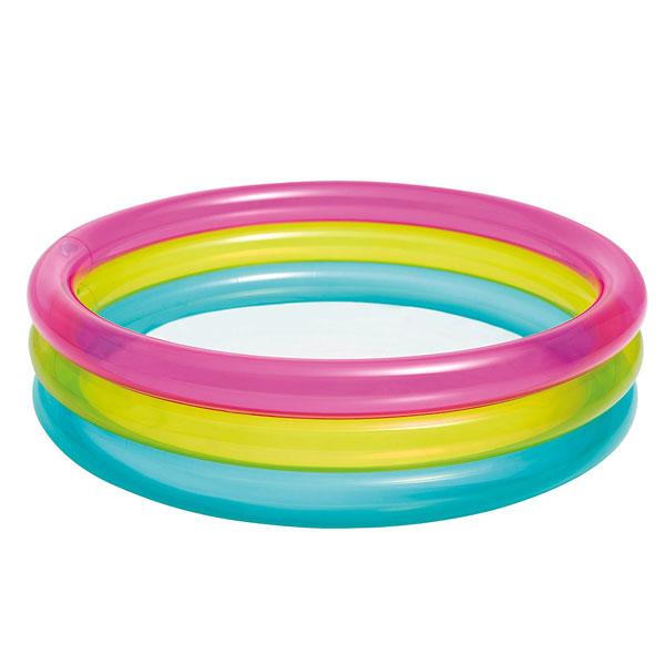 Dečiji Bazen Intex Rainbow Baby Paddling Pool 14/57104NPI - ODDO igračke