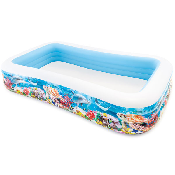 Dečiji Bazen Intex Swim Center Tropical Reef 305x183x56cm 14/58485NPI - ODDO igračke