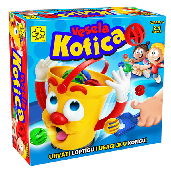 Društvena igra Vesela kofica 10450 - ODDO igračke