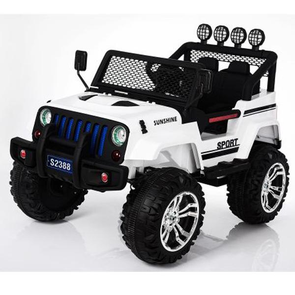 Auto na akumulator Džip 12V7AH 2 motora S2388 11/3499-1 - ODDO igračke