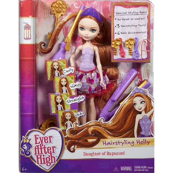 Ever After High Lutka Hairstyling Holly DNB75 - ODDO igračke