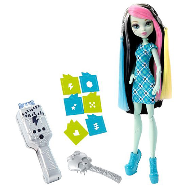Monster High High Voltageous Hair Frankie DNX-36 - ODDO igračke