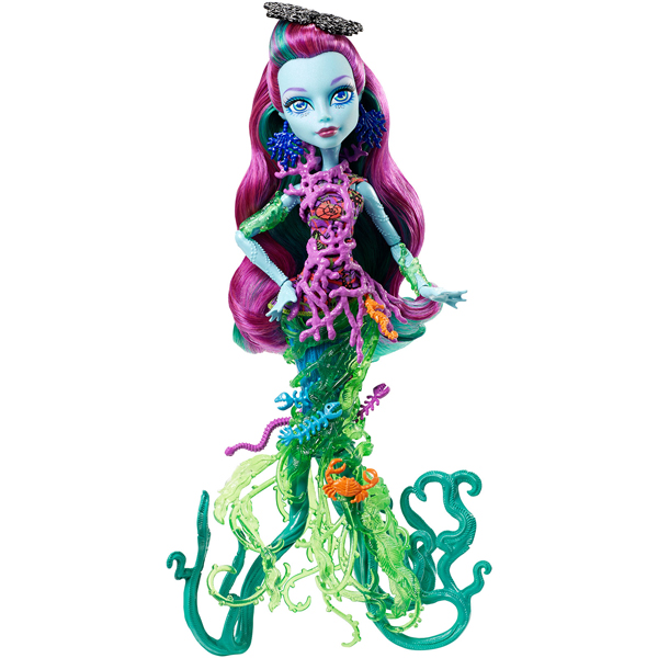 Monster High Lutka Great Scarier Reef Down Under Ghouls Posea Reef DHB50 - ODDO igračke
