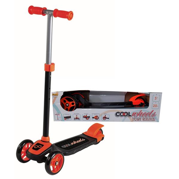 Trotinet Cool Wheels narandzasti sa tri tocka Twist FR57737 - ODDO igračke