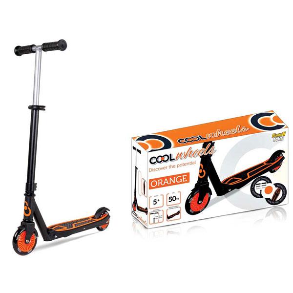 Trotinet Cool Wheels narandzasti (50kg) FR57690 - ODDO igračke