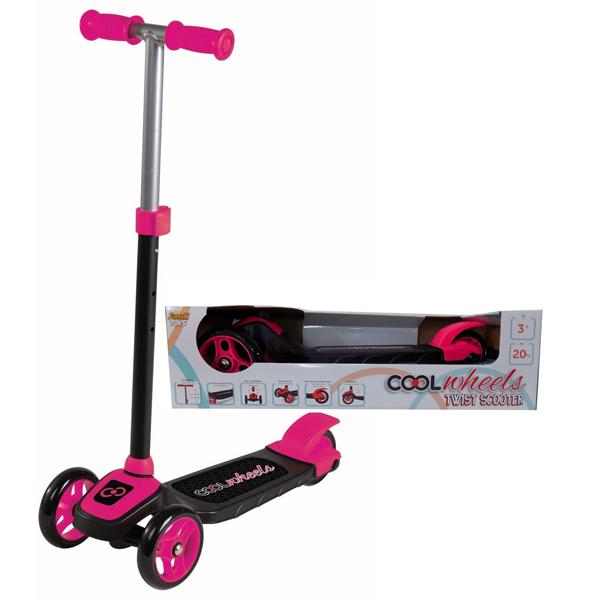 Trotinet Cool Wheels roze sa tri točka Twist FR57898 - ODDO igračke